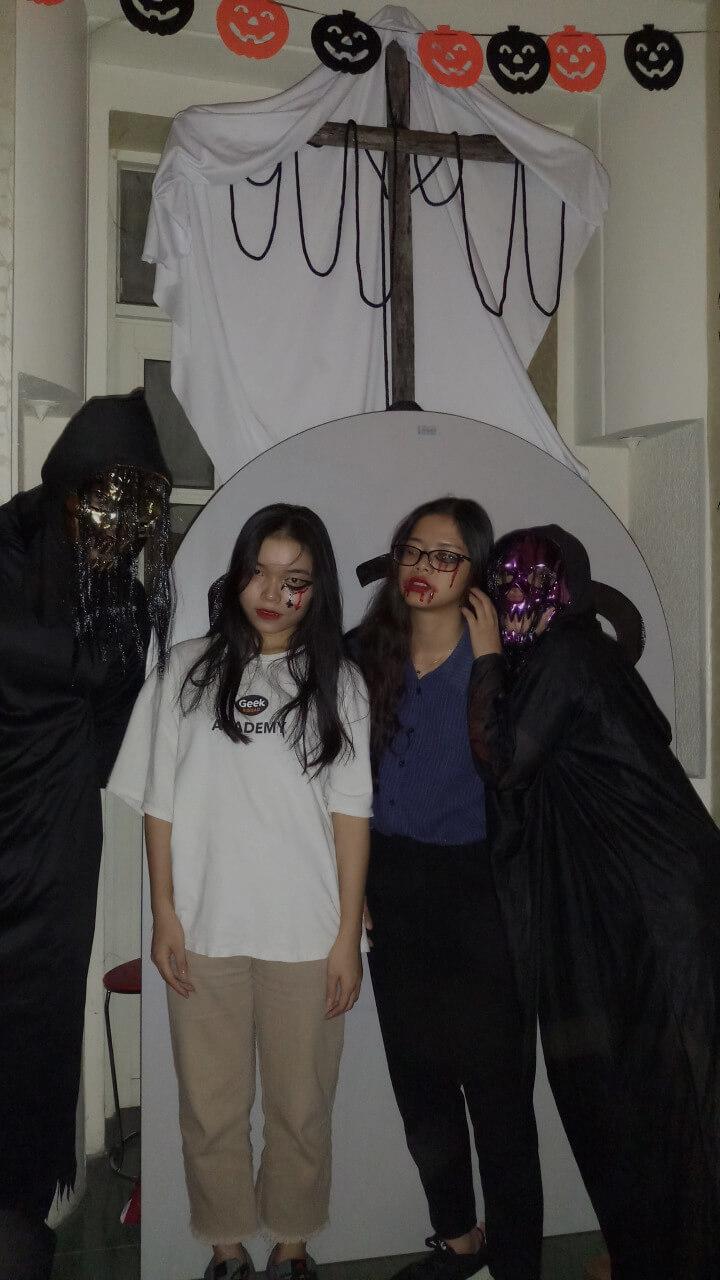 le hoi hoa trang halloween tai anh ngu uec da nang 14 - Lễ Hội Hóa Trang và Trao Giải Cuộc Thi Rùng Rợn Halloween UEC