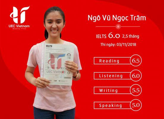 NGO VU NGOC TRAM - Địa chỉ học tiếng anh uy tín tại Đà Nẵng - Học IELTS - Luyện thi IELTS ở tại Đà Nẵng - Anh Ngữ UEC