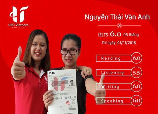 NGUYEN THAI VAN ANH 552x400 - Trung Tâm Luyện Thi IELTS Ở Đường Hàm Nghi Đà Nẵng