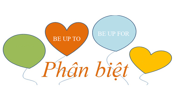 "phan biet be up to va be up for - Phân biệt ""Be up to"" và ""be up for"""