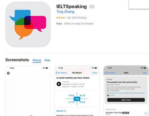 App luyện IELTS Speaking