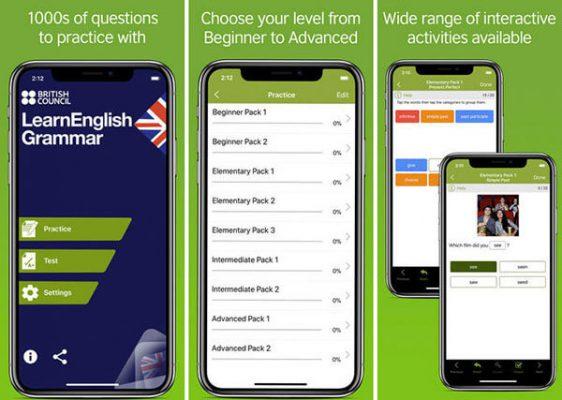 App học ngữ pháp Learn English