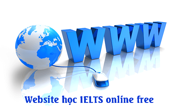 Website học IELTS online free