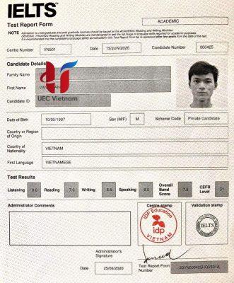 IELTS 4.0 - miễn thi tốt nghiệp tiếng Anh THPT 2