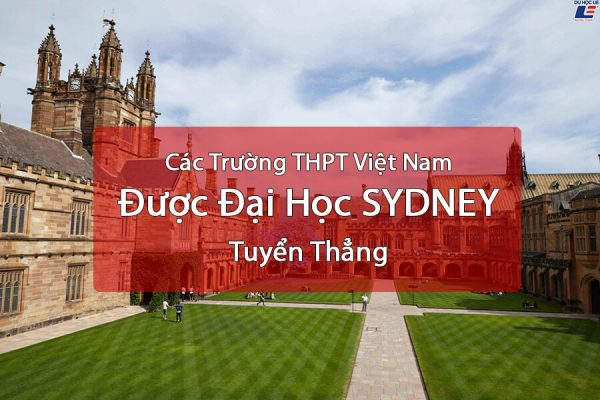 Du hoc uc dai hoc sydney 1 - Top 100 trường THPT Việt Nam được Đại Học SYDNEY tuyển thẳng - Học IELTS - Luyện thi IELTS ở tại Đà Nẵng - Anh Ngữ UEC