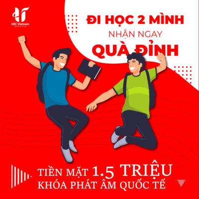 qua tang sieu dinh tu uec - Quà tặng siêu đỉnh từ UEC nhân dịp 20/11 - Học IELTS - Luyện thi IELTS ở tại Đà Nẵng - Anh Ngữ UEC