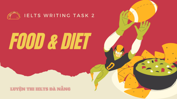 food-and-diet-ielts-writing-task-2
