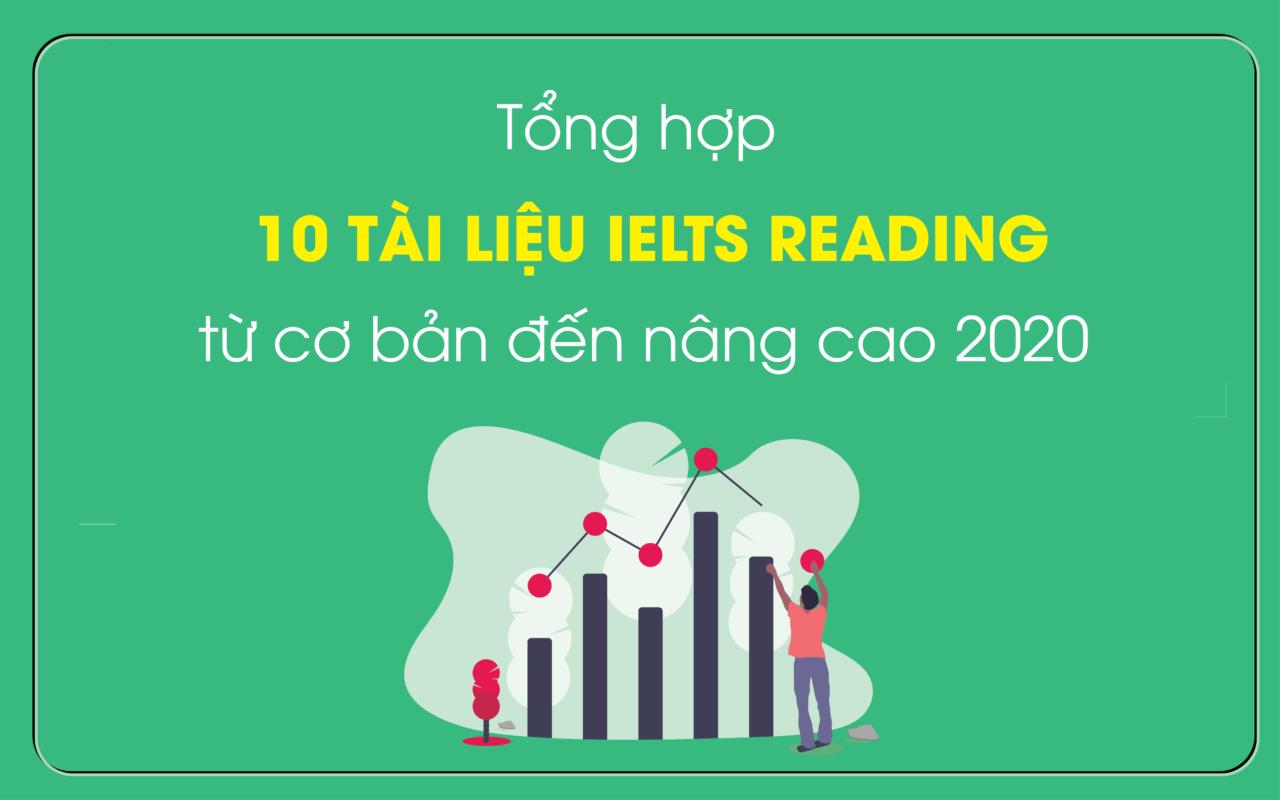 Review 10 bộ tài liệu luyện IELTS Reading hay nhất
