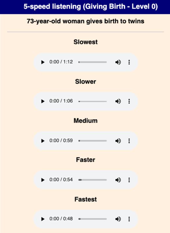 Cách dùng Breaking New English - website luyện nghe IELTS