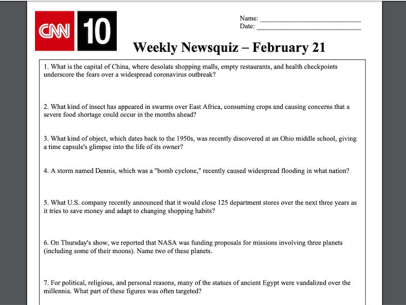 CNN - website luyện nghe IELTS kèm bài tests