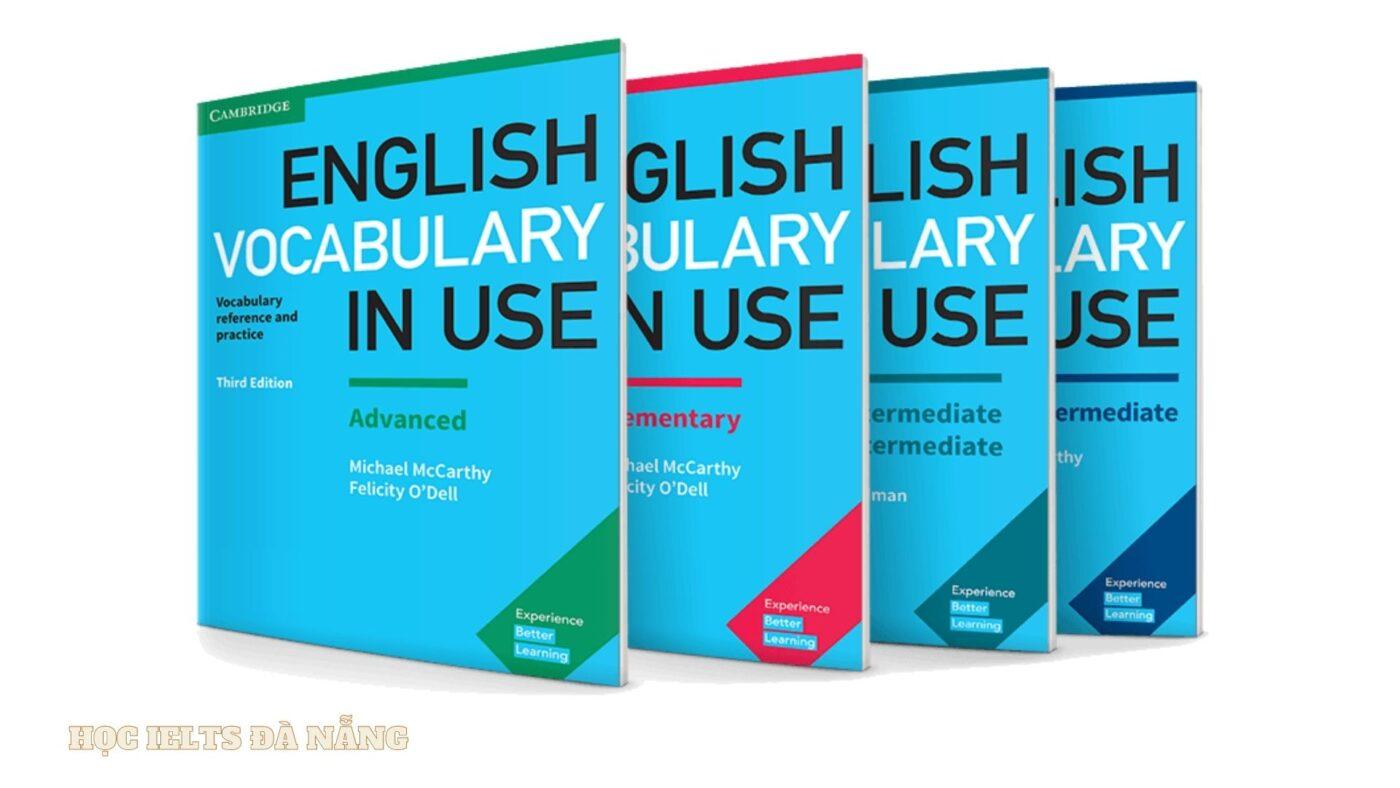 Bộ tài liệu luyện IELTS Reading: English Vocabulary in use 4 cuốn