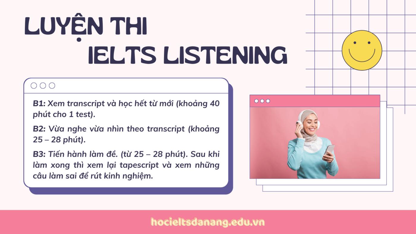 Luyện thi IELTS Listening cấp tốc